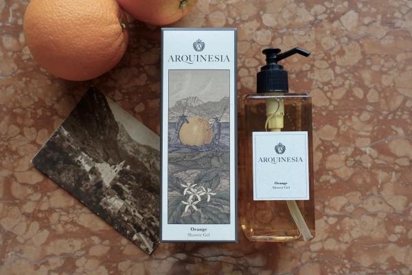 Arquinesia orange shower gel