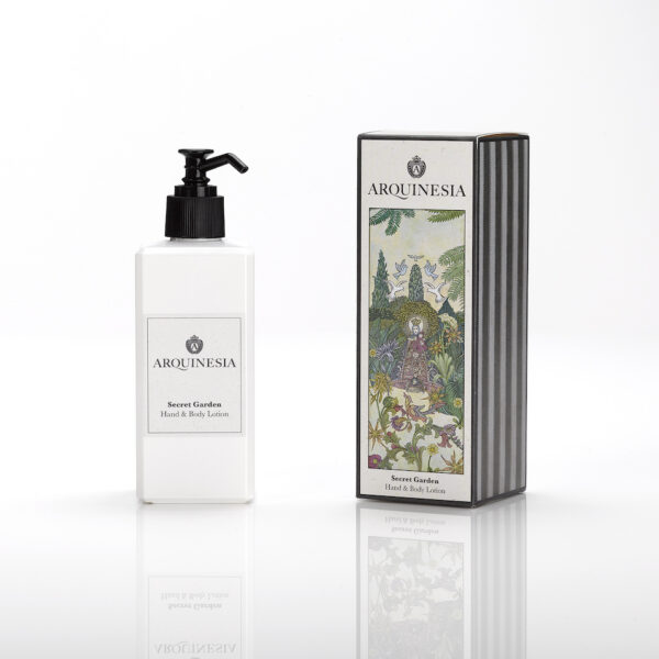 Hand & body lotion secret garden