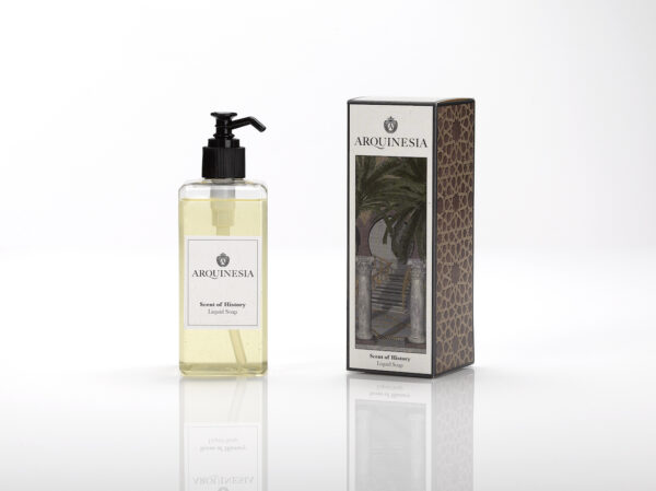 Scent of history liquid soap